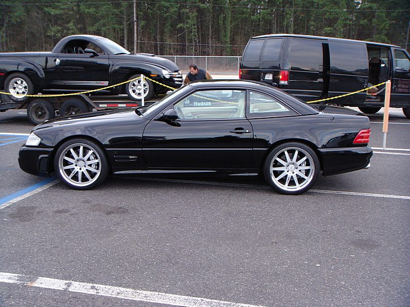1999  Mercedes-Benz SL500 Supercharged LET ECU picture, mods, upgrades