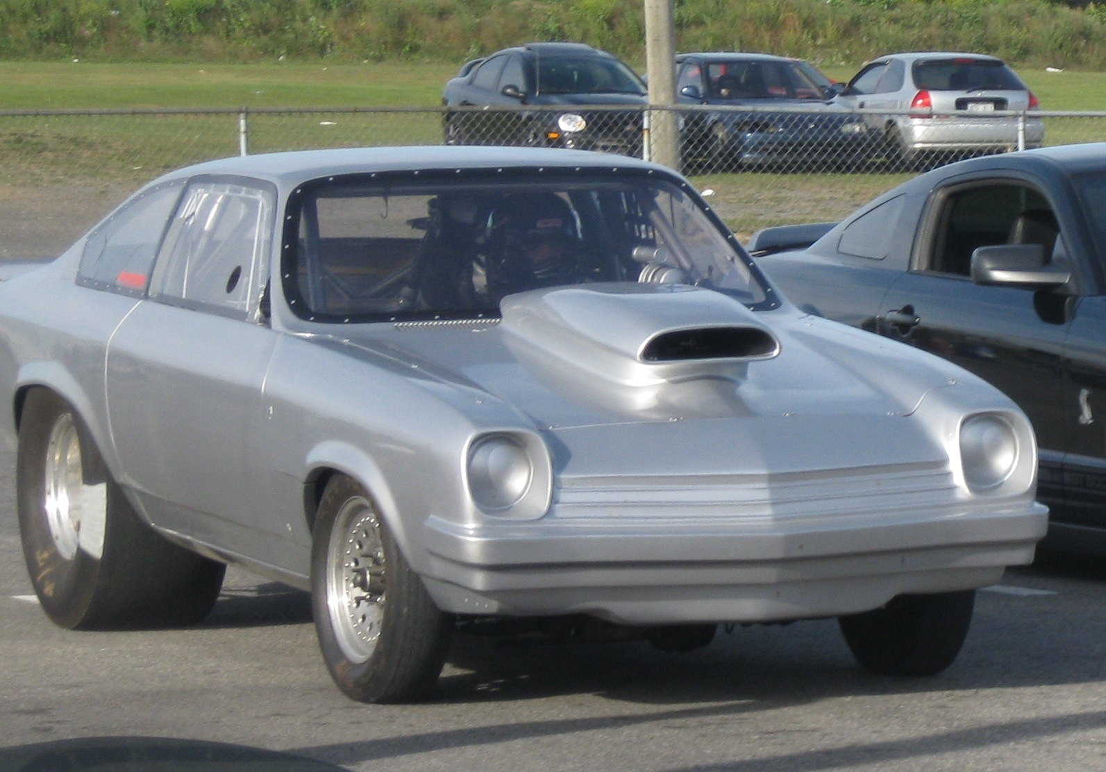 1974 Chevrolet Vega 1/4 mile trap speeds 0-60 - DragTimes.com