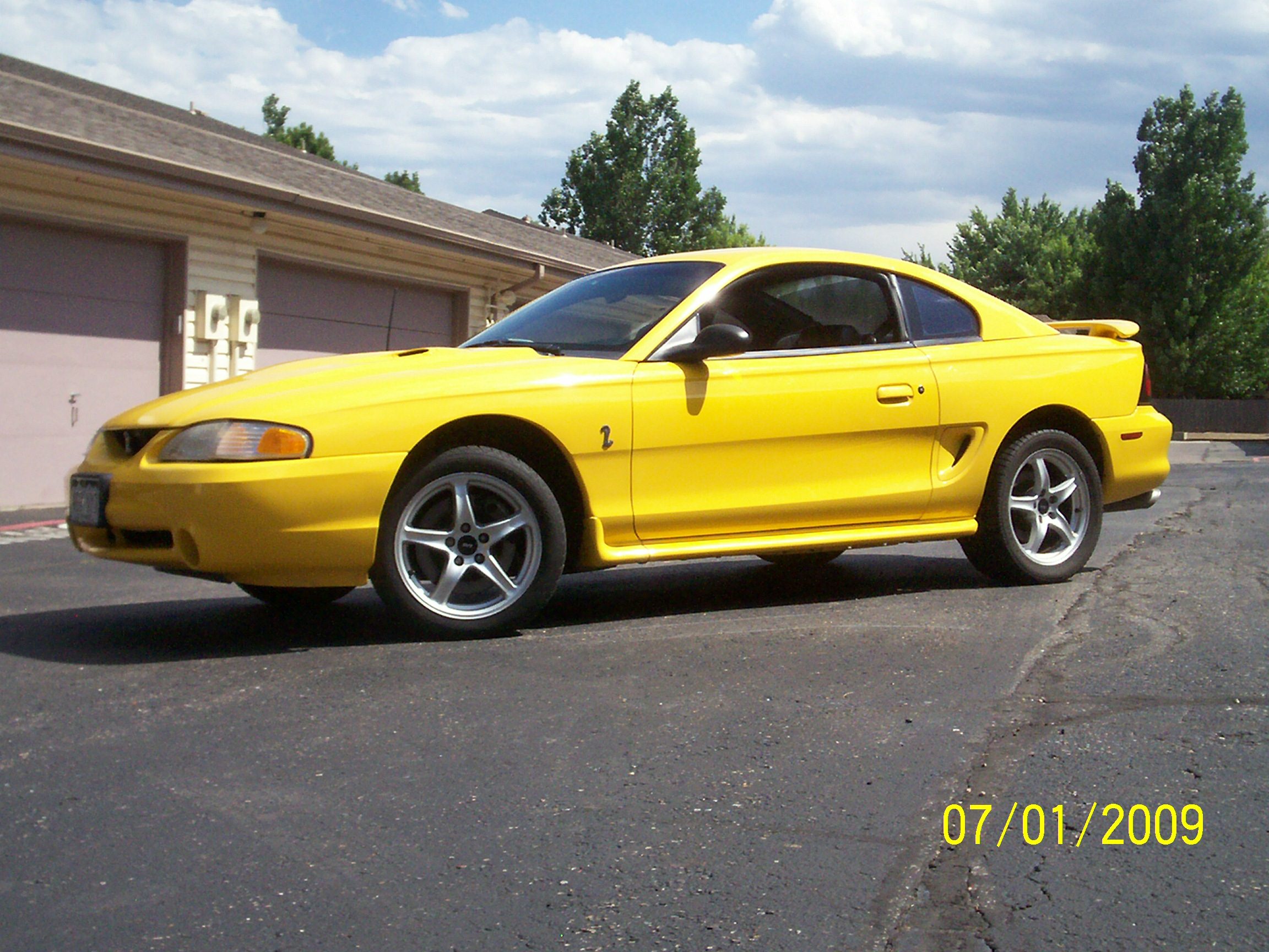 1998 Ford Mustang Cobra Coupe
