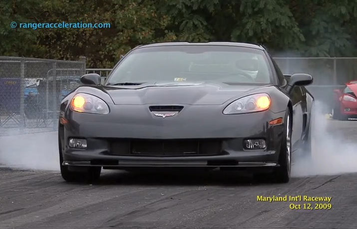 Stock 2009 Chevrolet Corvette ZR1