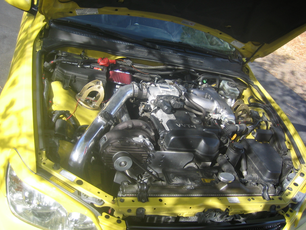2001  Lexus IS300 Supercharged picture, mods, upgrades
