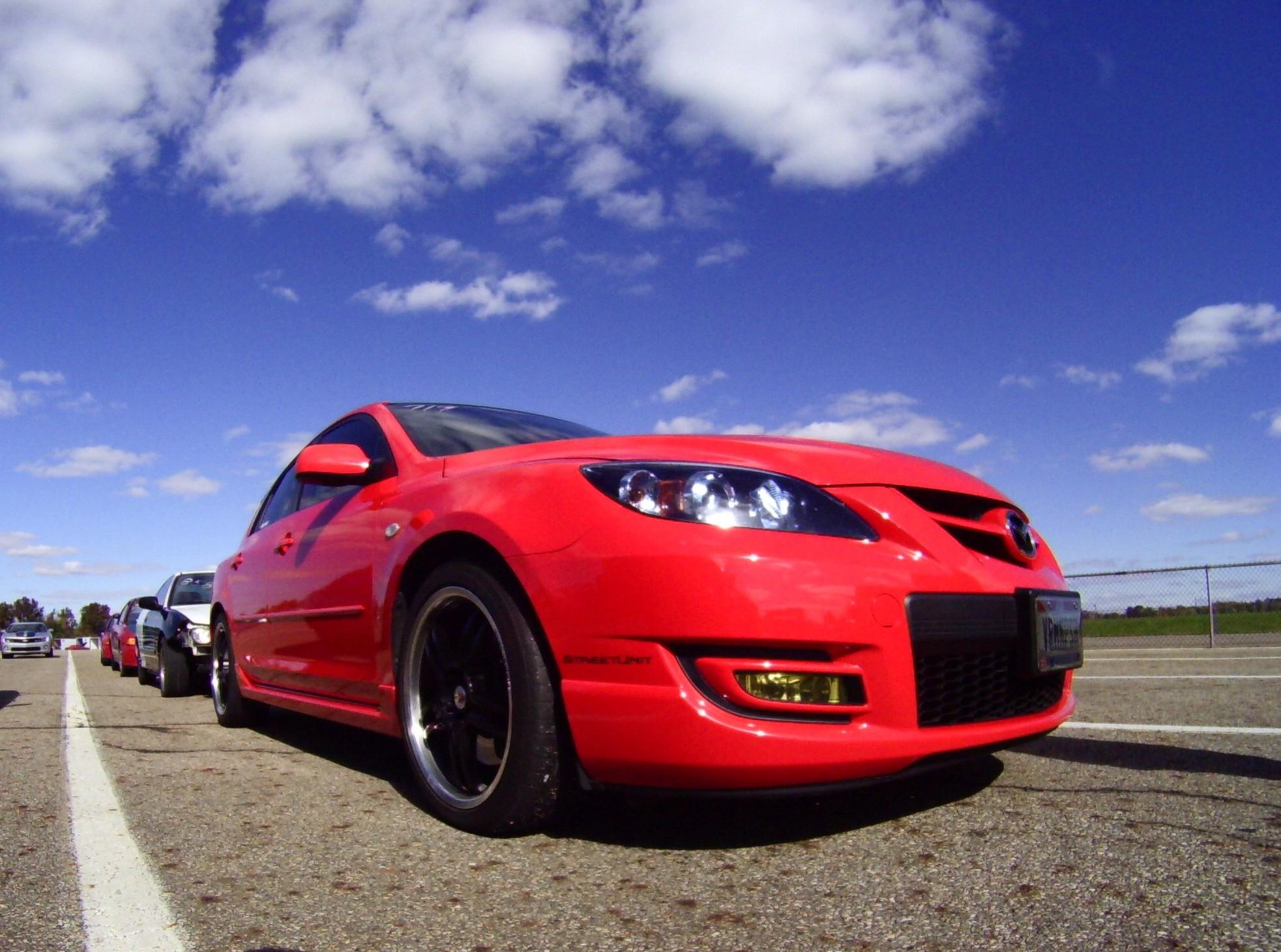 2007 Mazda 3 Sd 3 1/4 mile trap sds 0-60 - DragTimes.com