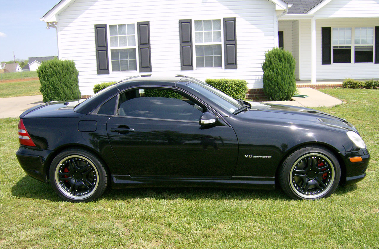 2002  Mercedes-Benz SLK32 AMG  picture, mods, upgrades