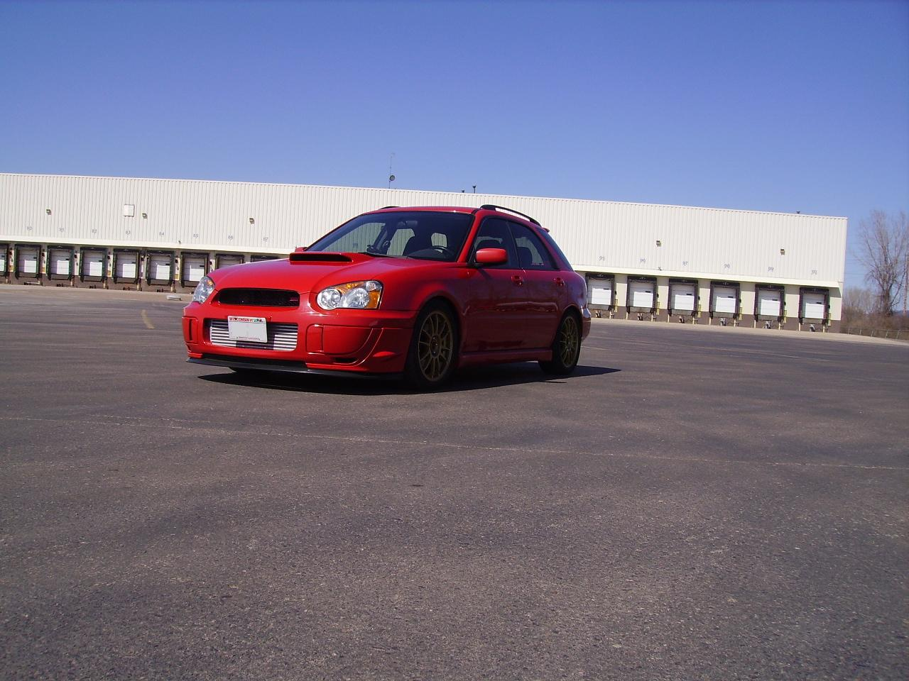 2004  Subaru Impreza WRX Wagon picture, mods, upgrades