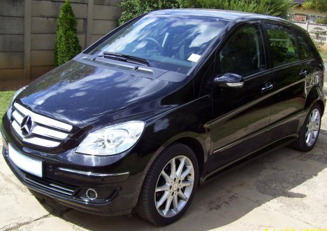 2007  Mercedes-Benz B200  picture, mods, upgrades