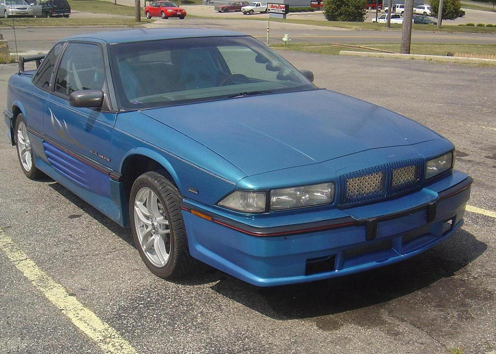 1991  Buick Regal GS picture, mods, upgrades