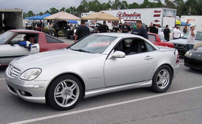 You can vote for this Mercedes-Benz SLK32 AMG to be the featured car of the