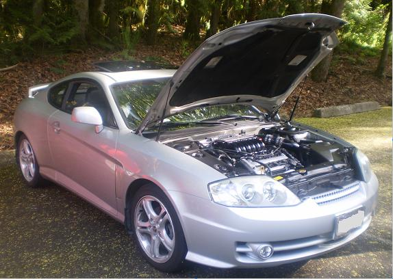 2003  Hyundai Tiburon GS-R Supercharged picture, mods, upgrades