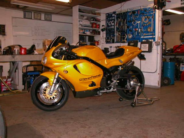 1997 Triumph Daytona T595 Pictures Mods Upgrades Wallpaper