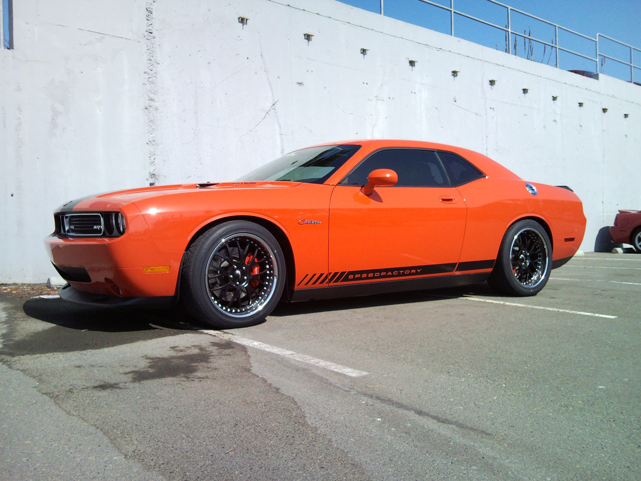 2009 Dodge Challenger SRT8 Vortech Supercharged SpeedFactory
