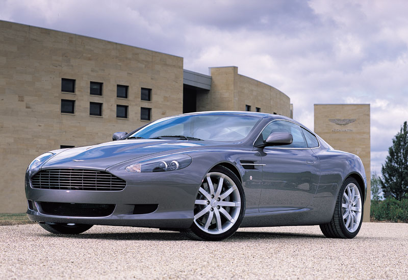 2005  Aston Martin DB9  picture, mods, upgrades