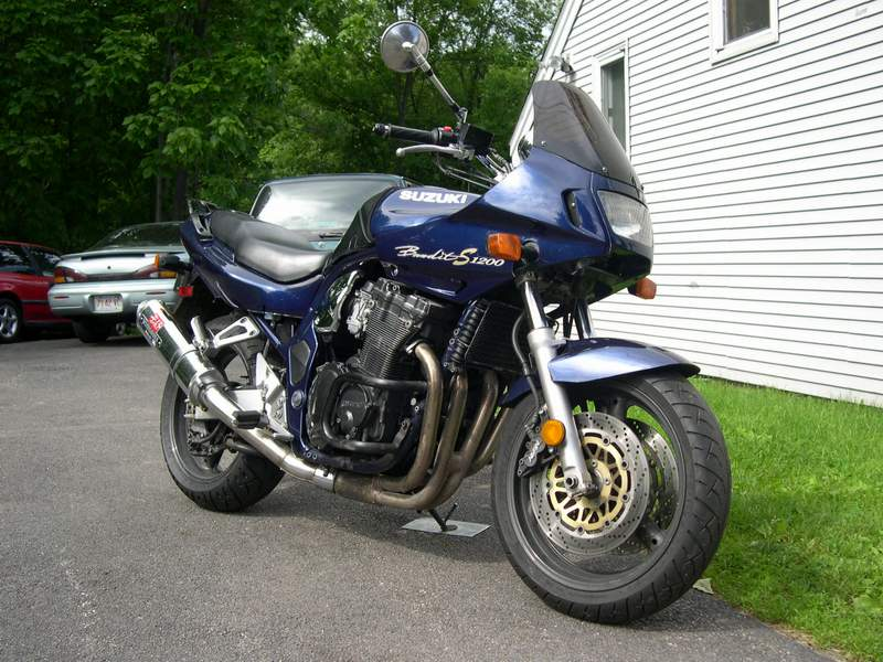 1997  Suzuki Motorcycle Bandit 1200S picture, mods, upgrades