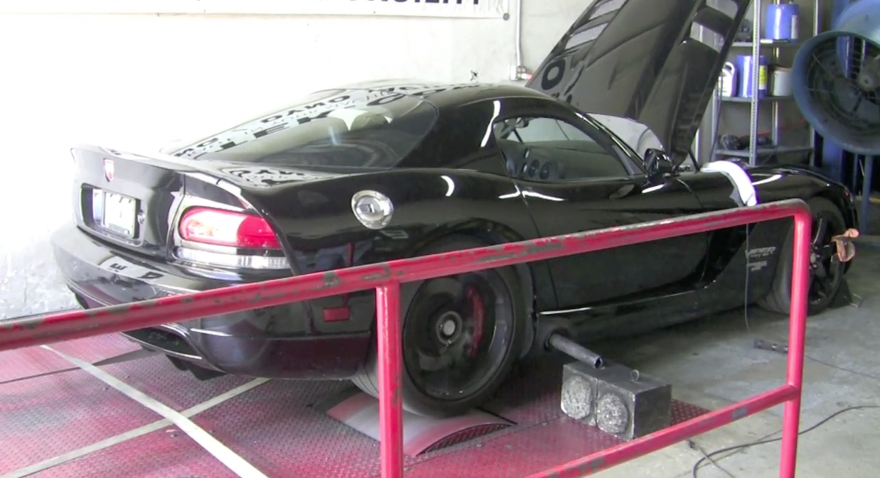 2006 Dodge Viper Paxton Supercharger