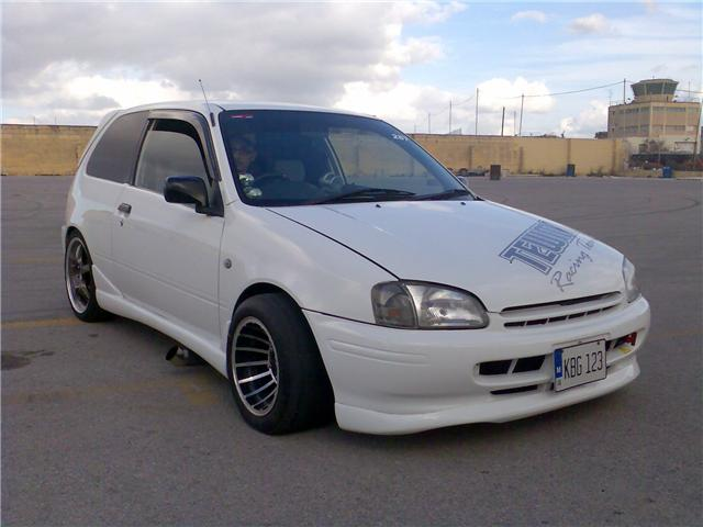 1998  Toyota Starlet reflect picture, mods, upgrades