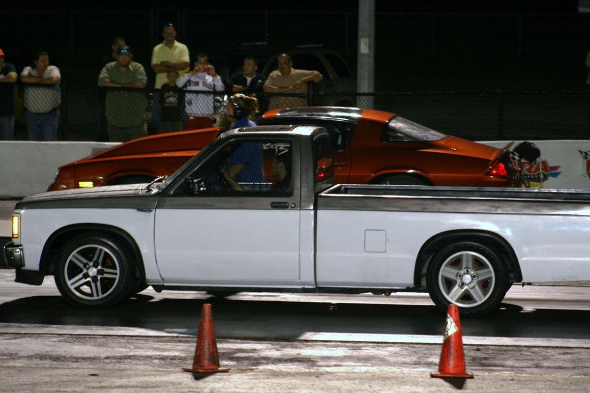 1990 GMC S15 Pickup SONOMA GT (CLONE) CPI (W) N/A 1/4 mile