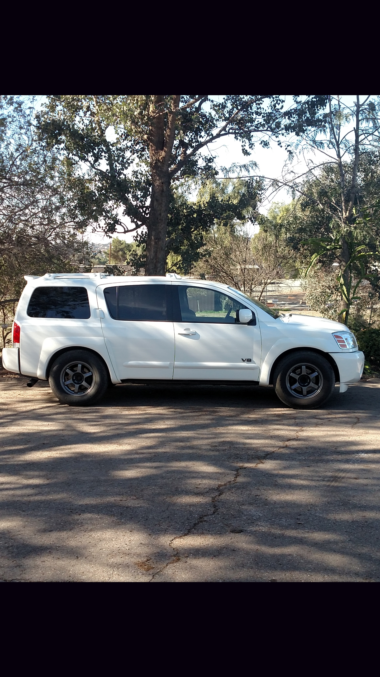 Cloud White 2006 Nissan Armada SE