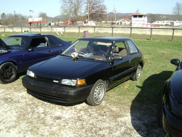 1991  Mazda 323 se picture, mods, upgrades