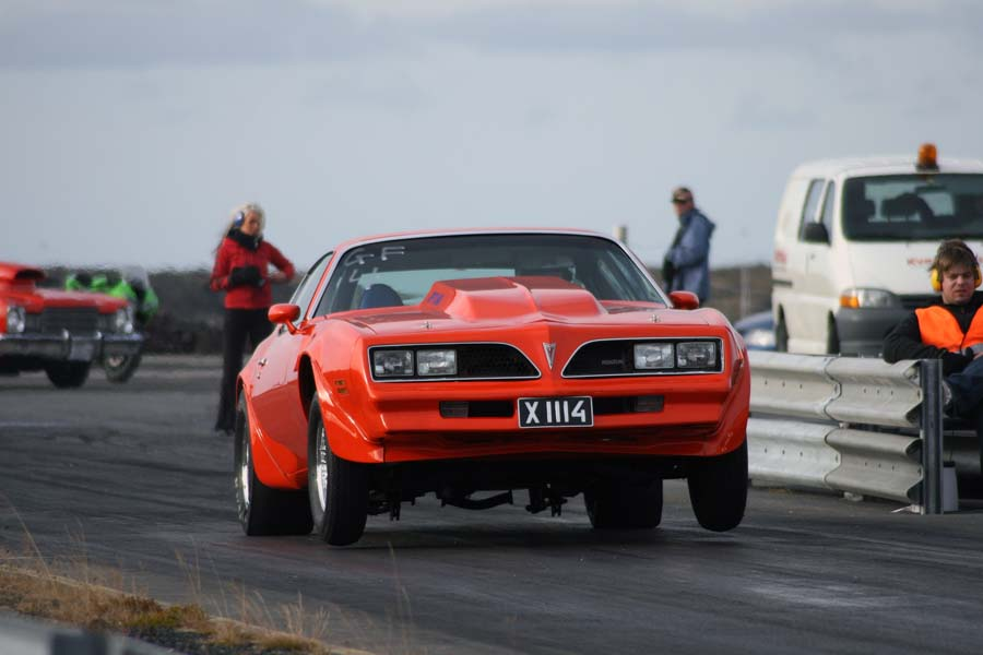 Orange 1976 Pontiac Trans Am