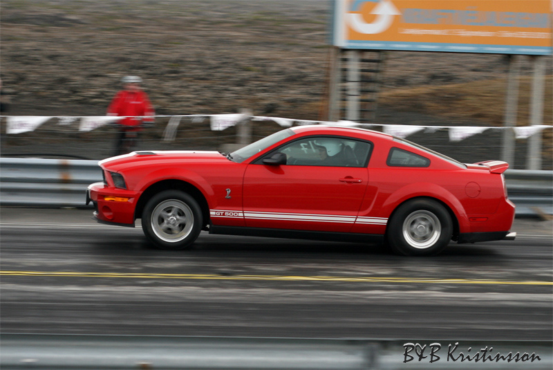 Red 2007 Ford Mustang Shelby-GT500 VMP 2.3L TVS