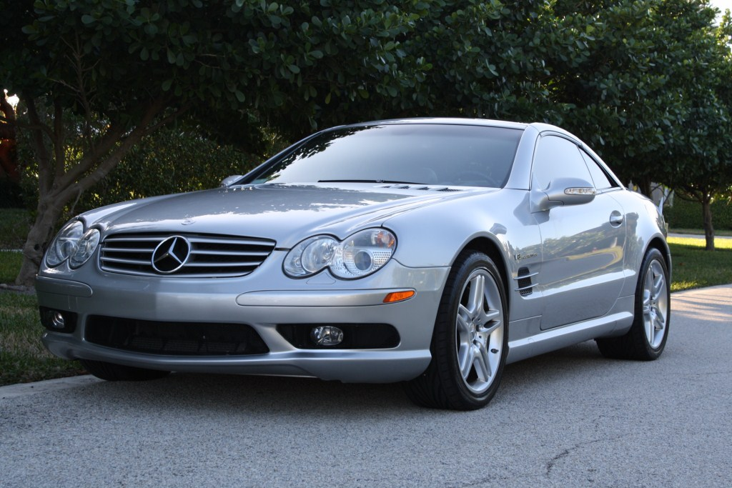2003 mercedes benz sl55 amg renntech 1 4 mile drag racing for Mercedes benz sl55 amg
