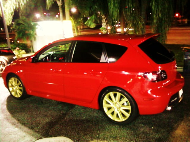 2008  Mazda 3 Mazdaspeed 3 picture, mods, upgrades
