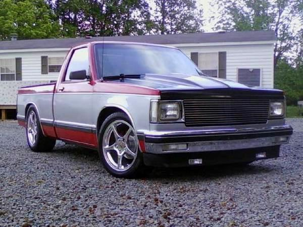 1989 Chevrolet S10 Pickup std cab, short bed