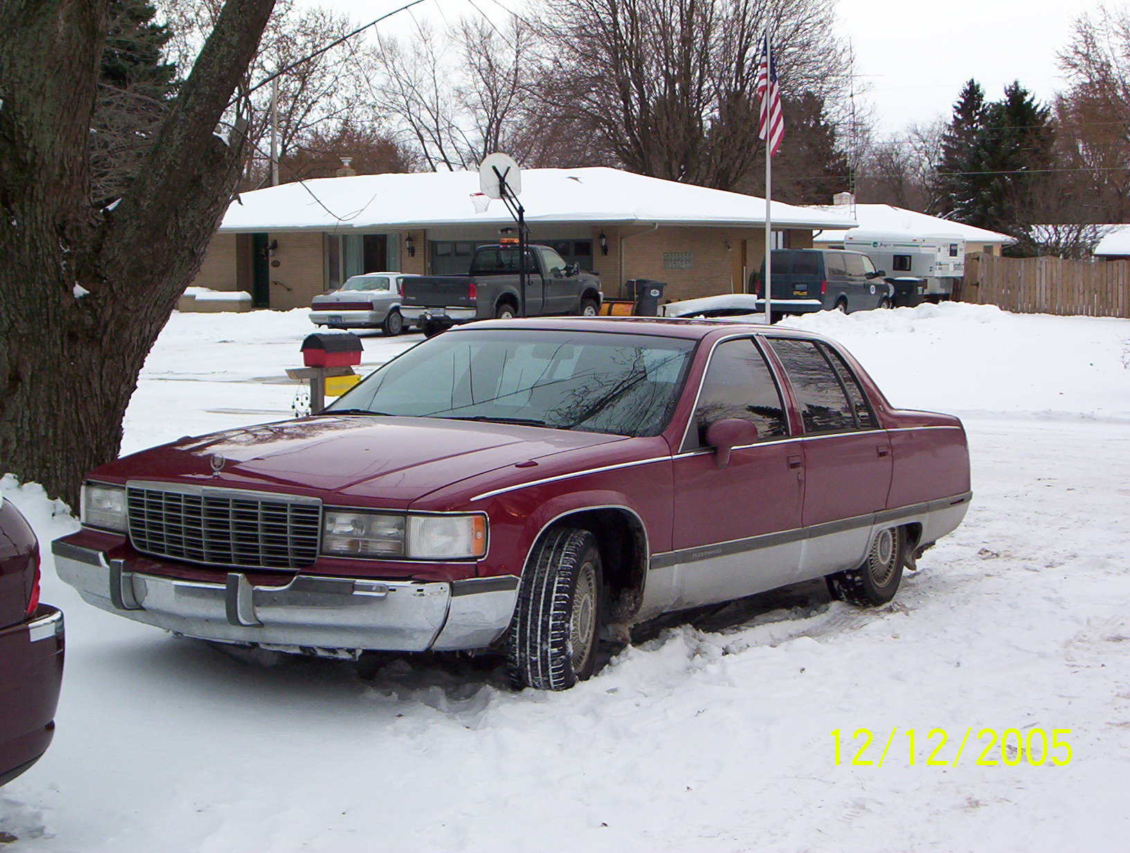 1994  Cadillac Fleetwood  picture, mods, upgrades