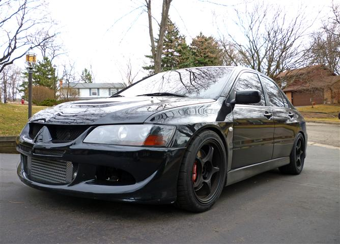 2003  Mitsubishi Lancer EVO GSR picture, mods, upgrades