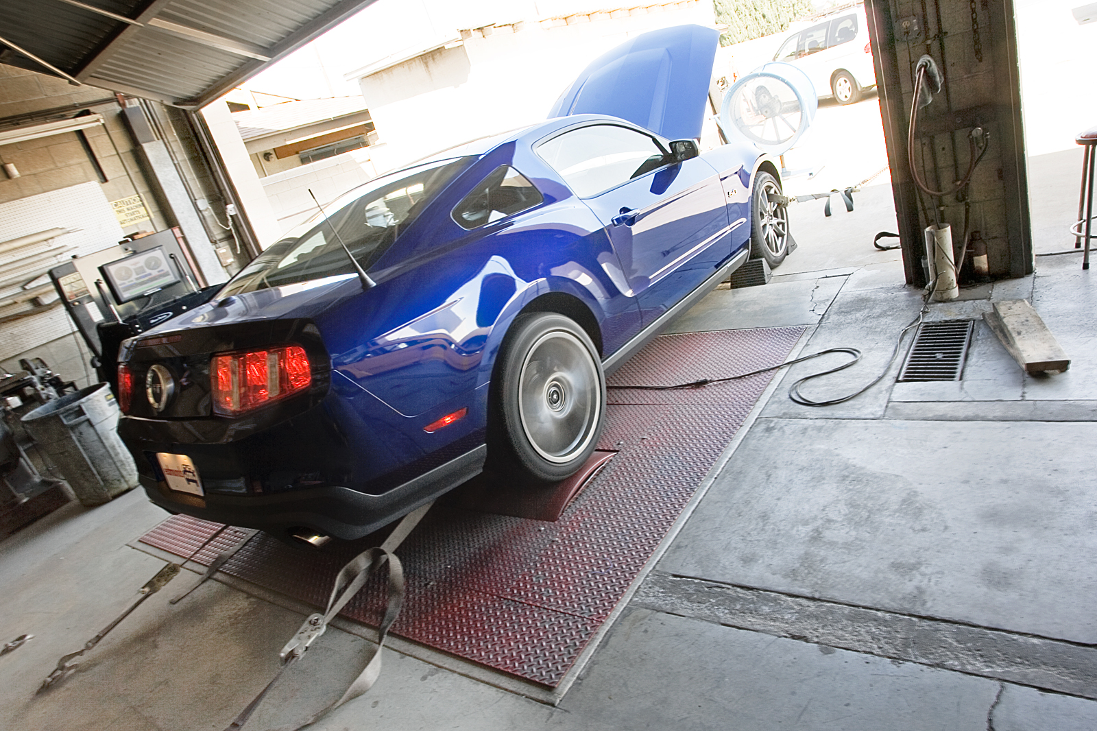 2011 Ford Mustang GT Dyno