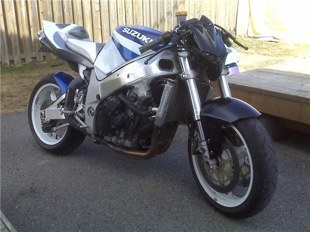 2002  Suzuki GSX-R 750 picture, mods, upgrades