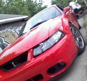 2003 Ford Mustang Cobra stock eaton M112