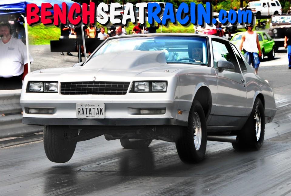 1986 Chevrolet Monte Carlo SS 1/4 mile Drag Racing timeslip specs ...