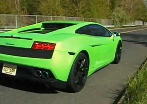 Stock 2009 Lamborghini Gallardo Lp560 4 1 4 Mile Drag Racing