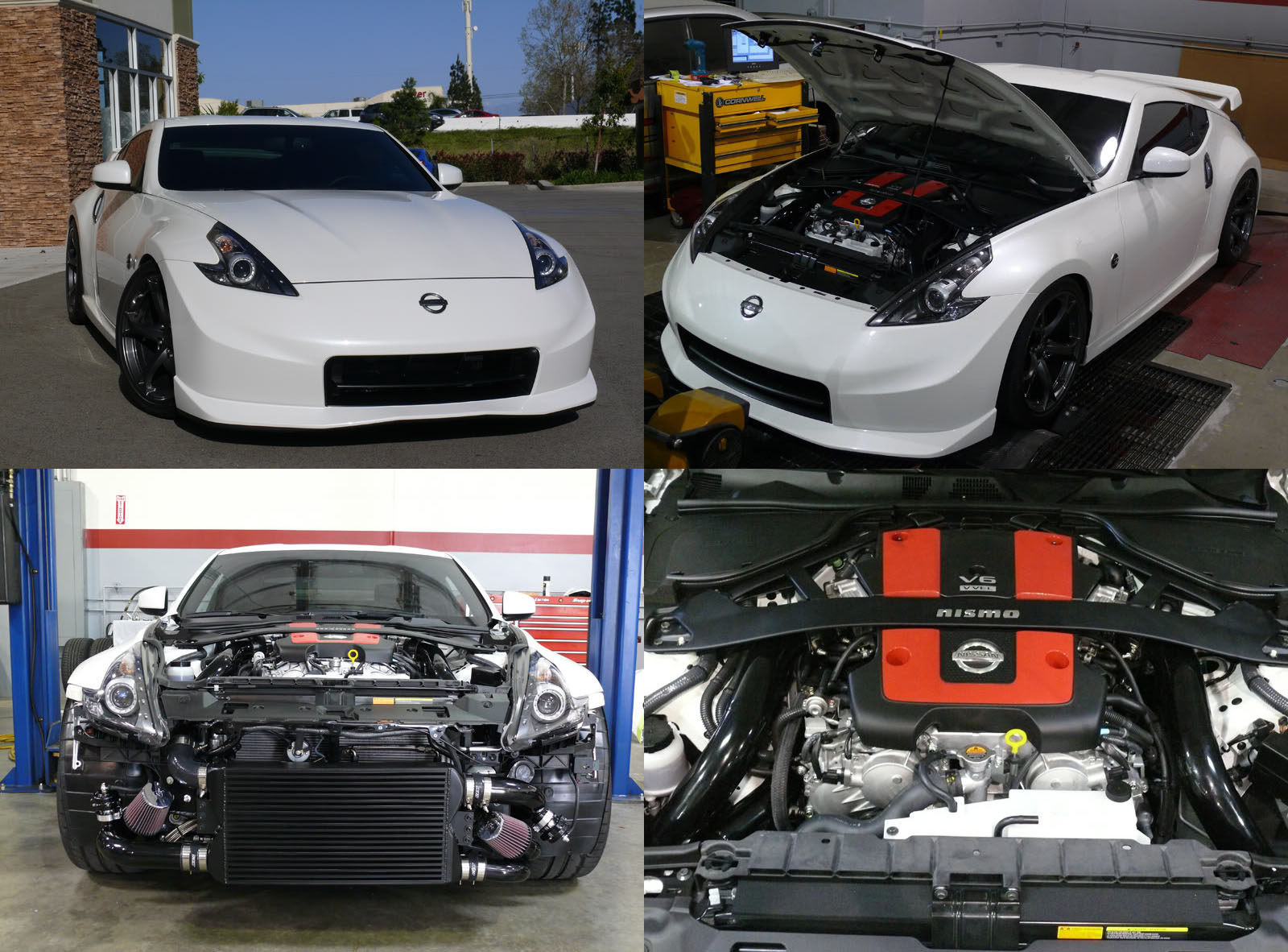 2010  Nissan 370Z Nismo GTM Twin Turbo picture, mods, upgrades