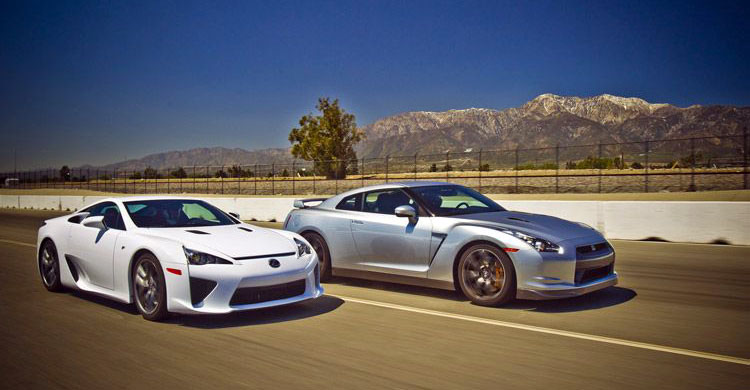 Lexus LFA Dyno and Drag Racing Results  DragTimescom Drag Racing