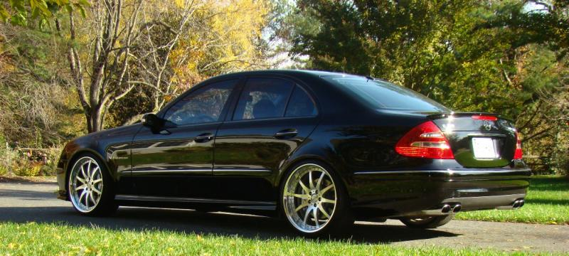 2004 Mercedes-Benz E55 AMG 1/4 mile Drag Racing timeslip