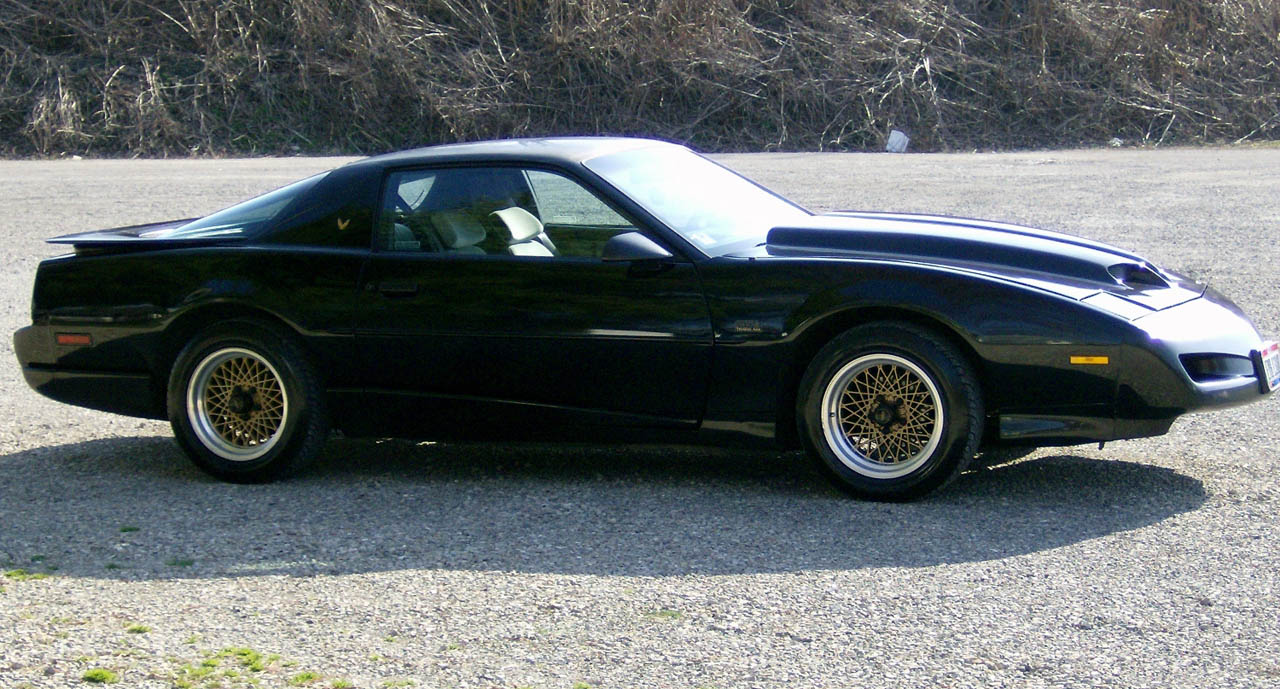 Black 1991 Pontiac Trans Am GTA