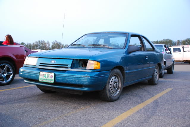 You can vote for this Ford Tempo GL to be the featured car of the month on