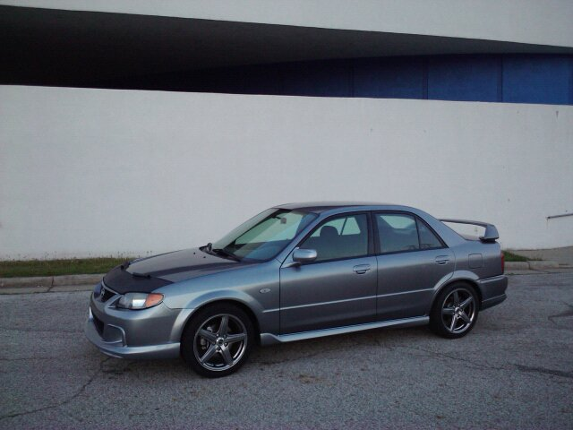 2003  Mazda Protege Mazdaspeed picture, mods, upgrades