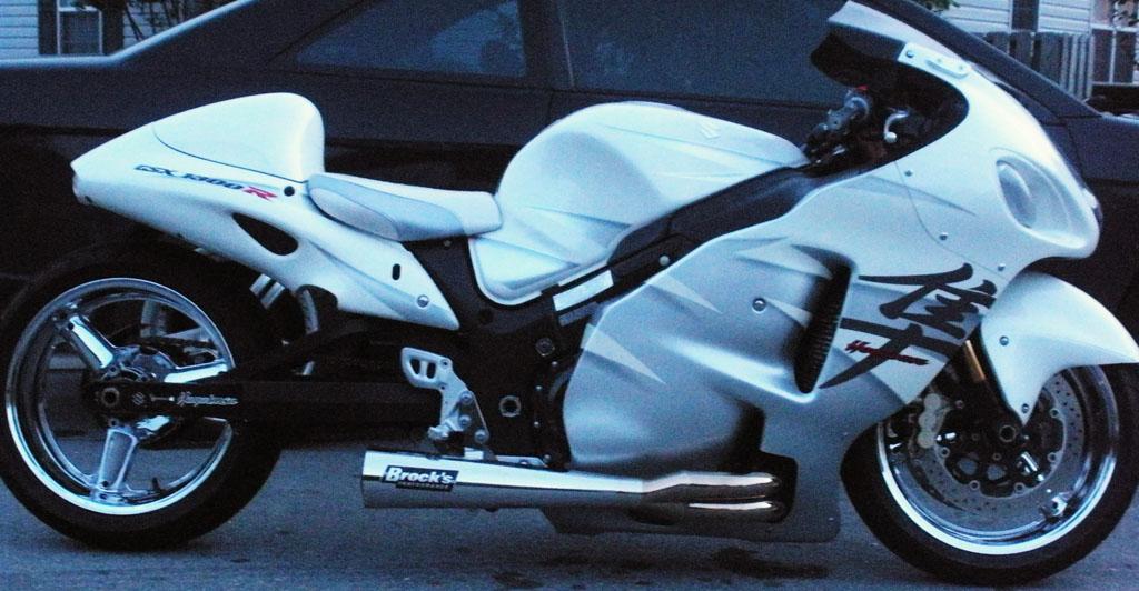 2006 Suzuki Hayabusa 1/8 mile Drag Racing timeslip 0-60 - DragTimes.com