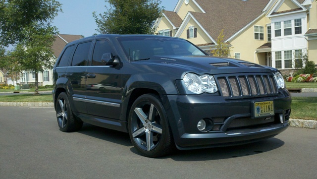 2008  Jeep Cherokee SRT8 Vortech Supercharged picture, mods, upgrades