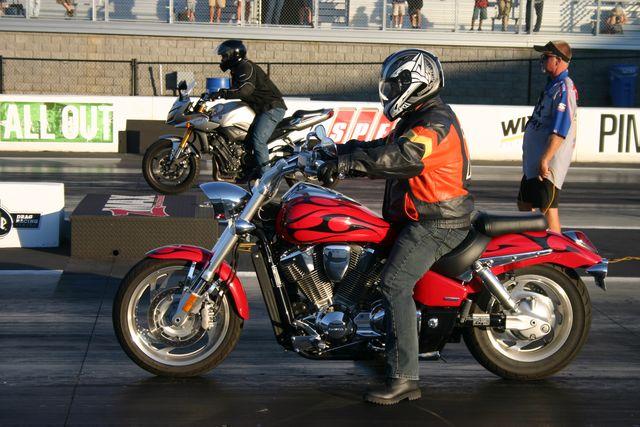 2007 Honda VTX VTX 1800 C 1/4 mile Drag Racing timeslip specs 0-60 ...