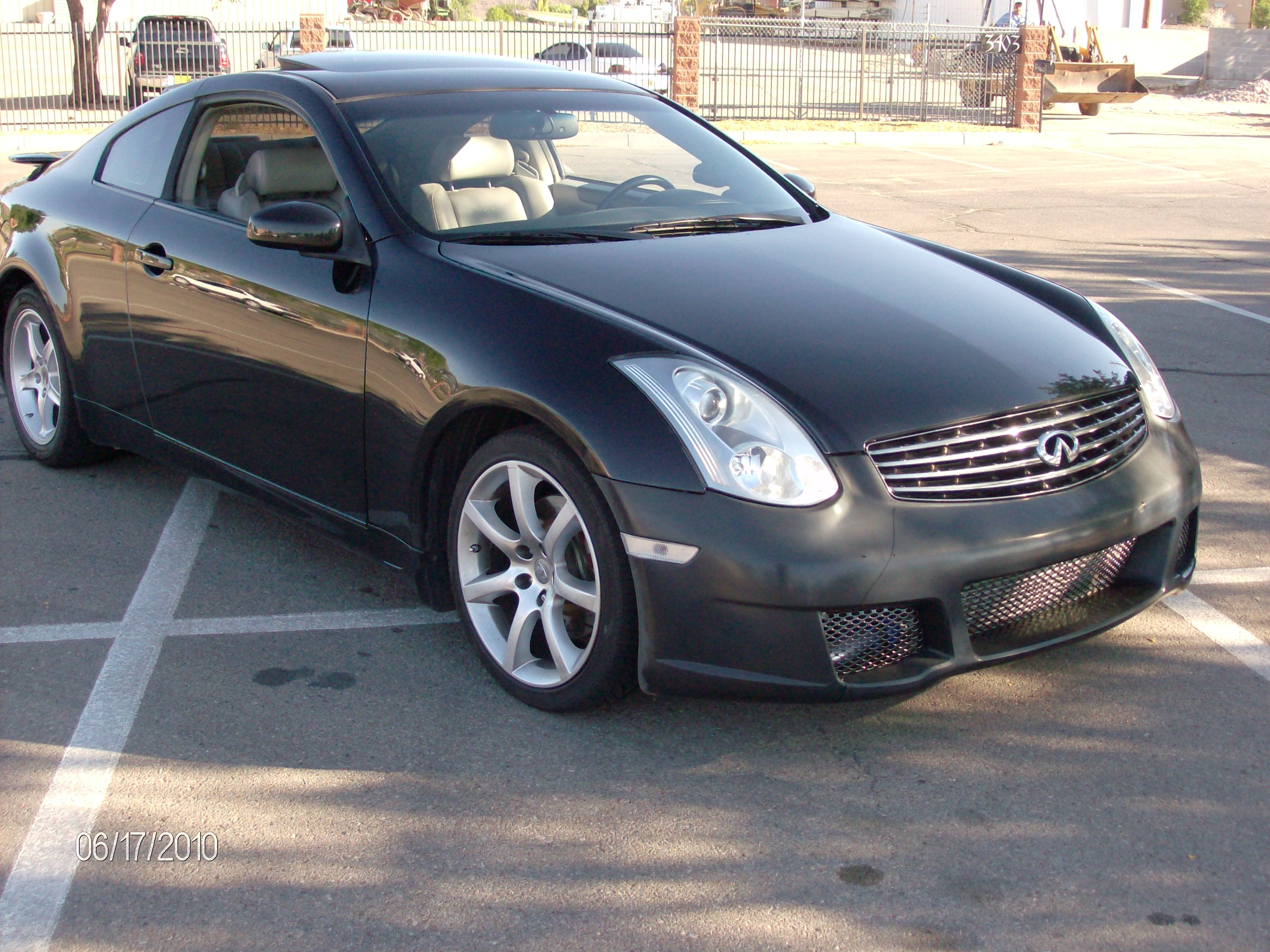 2006 Infiniti G35 coupe 60-130 MPH Scan