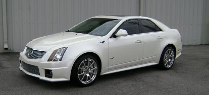 2010  Cadillac CTS-V 6MT picture, mods, upgrades