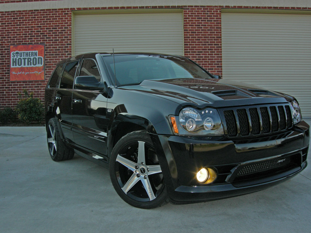 Black 2007 Jeep Cherokee SRT8 Supercharged