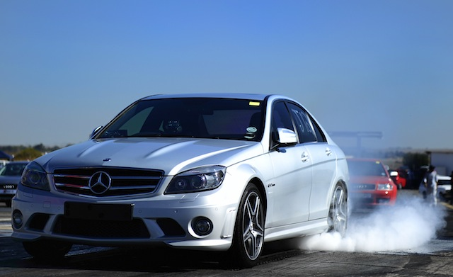 2008 Mercedes Benz C63 AMG tuned by Motronix 1 4 mile trap
