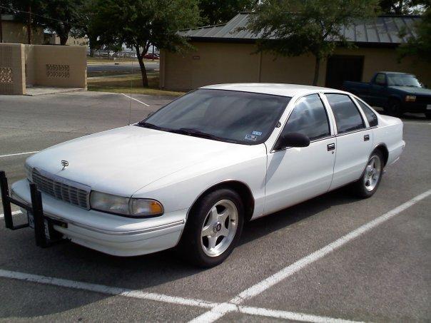 1995 Chevrolet Caprice 1/4 mile Drag Racing timeslip specs 0-60