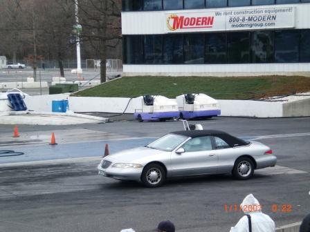 1997 Lincoln Mark Viii 1 8 Mile Drag Racing Timeslip 0 60
