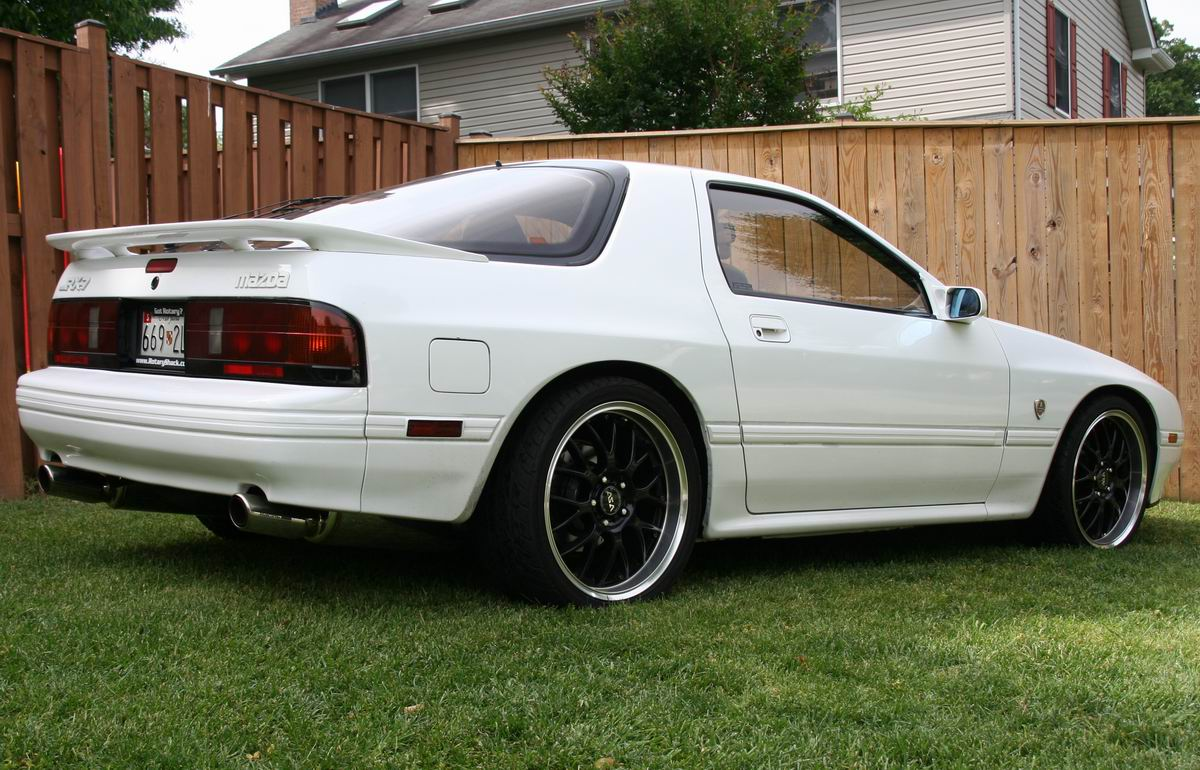 1988  Mazda RX-7 10th anny picture, mods, upgrades