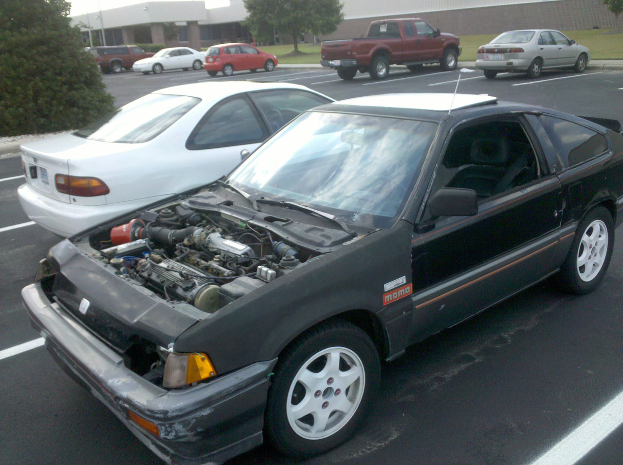 1985  Honda Civic CRX si picture, mods, upgrades
